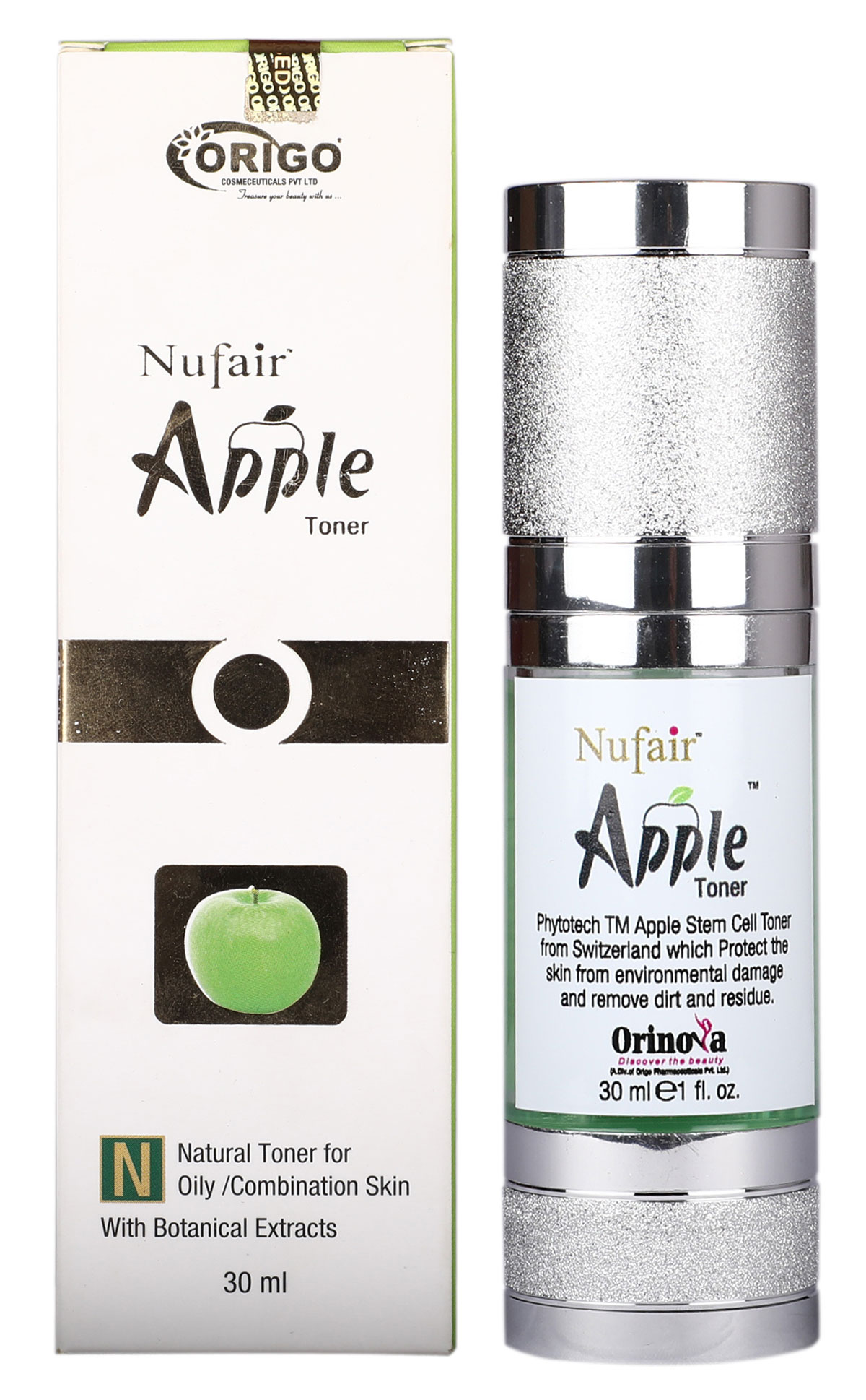 Nufair Apple Q10 Stem Cell Toner