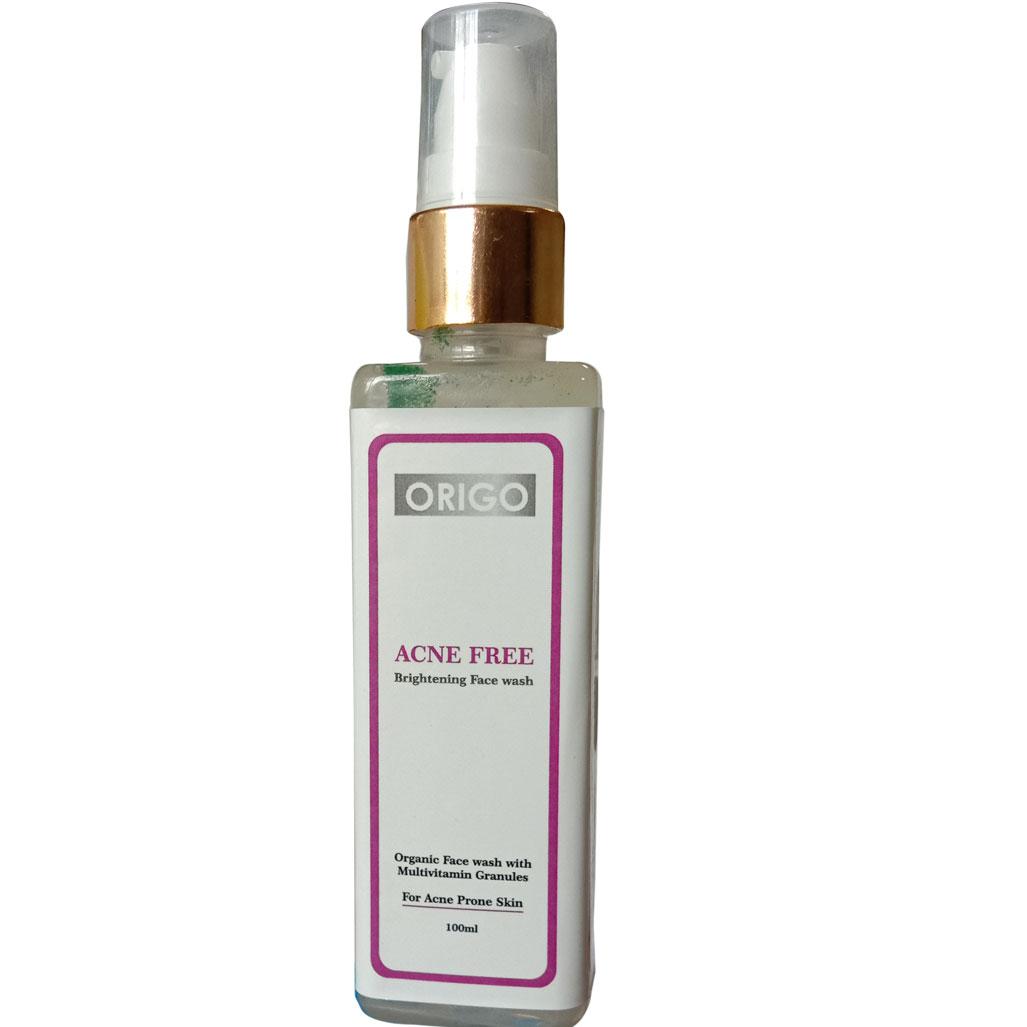 Origo Acne Free Brightening Facewash